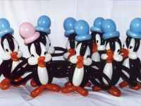 balloon modelling Penguins