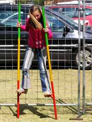 Circus School Stilt Walking
