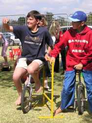 Circus School Unicycles